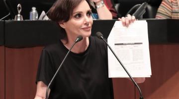 Les importa más el voto que la vida, dice Lilly Téllez tras culpar a MORENA de la muerte del senador Joel Molina