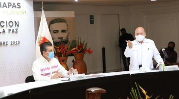 """Gobierno de Chiapas """"acepta"""" reto de uso de cubreboca para los próximos 14 días"""