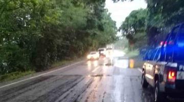 Se forman 10 vados en la Villahermosa-Teapa por lluvias: Protección Civil