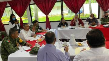CONAGUA reitera que aumento de desfogue de Peñitas no afecta a Centro: AALH