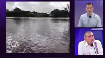Próximas horas serán las más críticas para Tabasco, al comenzar a bajar lluvias de los altos de Chiapas: AALH
