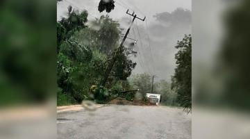 Restablece CFE energía eléctrica a 53 mil usuarios de Chiapas y Tabasco afectados por las lluvias