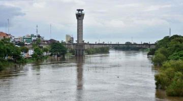 Reportan 7 ríos de Tabasco y Chiapas por arriba de su NAMO