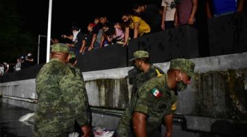 Filtración en el malecón Carlos A. Madrazo no representa riesgo para Villahermosa: Gobierno