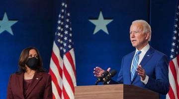 """""""No somos enemigos"""" expresa Biden al pedir que se haga a un lado la """"retórica áspera"""" sobre resultados de la elección"""