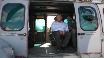 AMLO no regresará por ahora a Tabasco y Chiapas