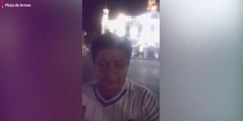 Ciudadano amaga con flagelarse si el agua no baja en Gaviotas Sur