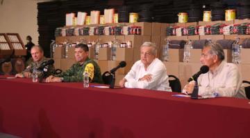 Reconoce AMLO preocupación por posible formación de nuevo huracán; ´toca madera´ para que no llegue a Tabasco