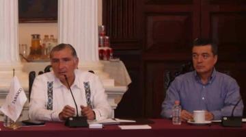 Hoy reunión de gobierno federal con gobernadores de Tabasco y Chiapas para conocer plan contra inundaciones