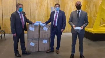 Recibe Tabasco donaciones humanitarias de 7 países, informa Cancillería