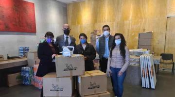 Donan empresas de Rusia y Francia, 22 mil cubrebocas para damnificados de Tabasco y Chiapas