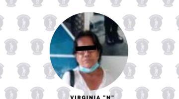 Detienen a mujer señalada de sustraer artículos en Wal-Mart Villahermosa