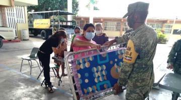 Despliega Fuerzas Armadas más de 7 mil elementos para atender inundaciones en el sureste