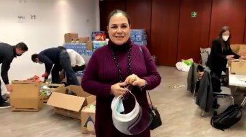 Alista Senado segundo envío de ayuda humanitaria a Tabasco y Chiapas
