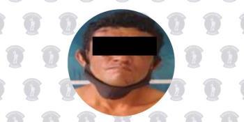 Aprehenden a presunto delincuente que robó a transeúnte