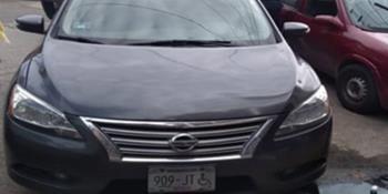 Recuperan vehículo con reporte de robo en Centro de Villahermosa