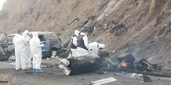 Muere única sobreviviente de explosión de pipa de gas LP en Nayarit