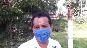Difícil bachear en Villahermosa, ante resguardo de trabajadores por covid e inundaciones