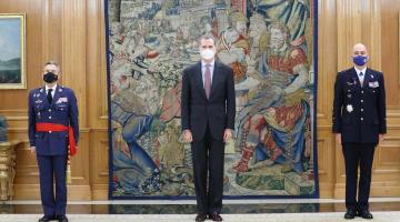 Inicia cuarentena rey de España Felipe VI, tras tener contacto con un positivo de covid