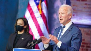 Se acabó la elección, afirma Joe Biden, y llama a la unidad
