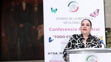 Denuncia Mónica Fernández Balboa a Gustavo Madero ante la FGR, por violencia de género en su contra