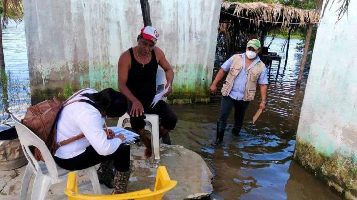 Hoy serán censadas 164 localidades afectadas por inundaciones