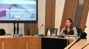 Productos de higiene femenina serán gratuitos en Escocia