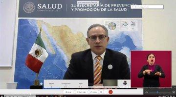 Por segundo día, México supera los 10 mil casos confirmados de Covid-19 en 24 horas