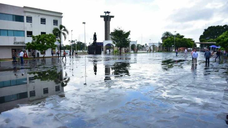 Canal de baja presión ocasionaría lluvias con chubascos en Tabasco, estima Conagua