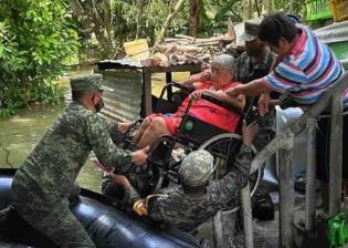 Proponen en Congreso tabasqueño reconocer públicamente a Fuerzas Armadas por su apoyo en inundaciones