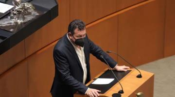 Eliminación de fuero constitucional debe trascender a estados y municipios, sugiere Fócil ante el Senado