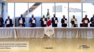 Insiste Obrador en que acciones de la Alianza Federalista tienen trasfondo electoral