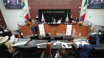 Senadores aprueban eliminación del fuero presidencial