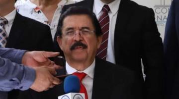 Detienen a expresidente de Honduras Manuel Zelaya por intentar salir del país con 18 mil dólares