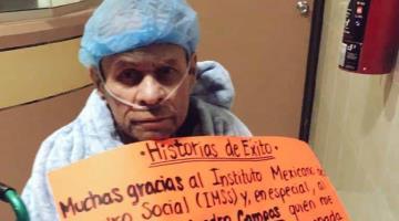 """""""Se quedan en mi corazón"""", agradece pediatra a personal del IMSS que lo ayudaron a vencer el Covid en Baja California"""