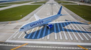 United Airlines realiza vuelos chárter con vacunas contra COVID-19 entre Estados Unidos y Bélgica