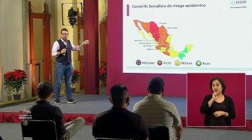 Registra México 14 mil 357 hospitalizados por Covid; suma un millón 100 mil 683 de casos confirmados