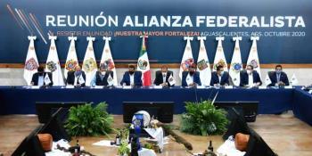 Plantean gobernadores de la Alianza Federalista extender incentivos fiscales a otros estados