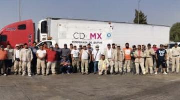 Agradece Claudia Sheinbaum a trabajadores de la CDMX que por casi un mes apoyaron a damnificados de Tabasco