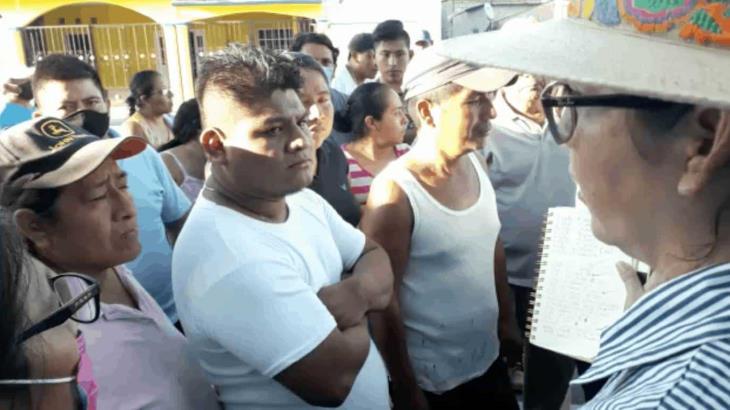 Cuando existan condiciones se regresará a censar en Tucta, Nacajuca, precisa Bienestar