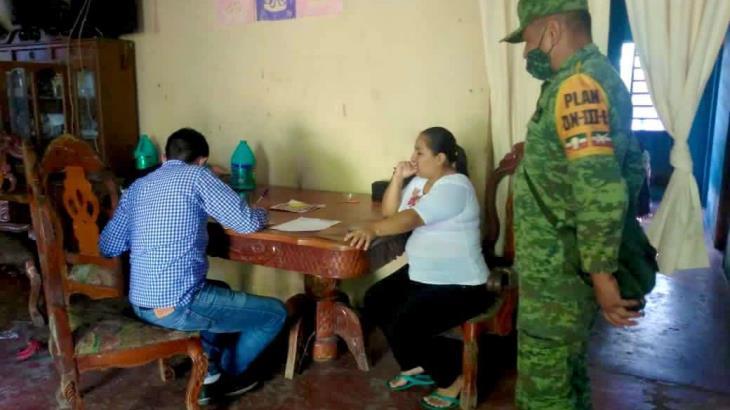 Llega a 50% avance del censo a damnificados por inundaciones en Tabasco: Bienestar