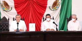 Hoy regresa AALH al Congreso para concluir con protocolo de su Segundo Informe