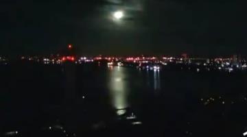 Meteorito atraviesa la atmosfera y cae en Japón