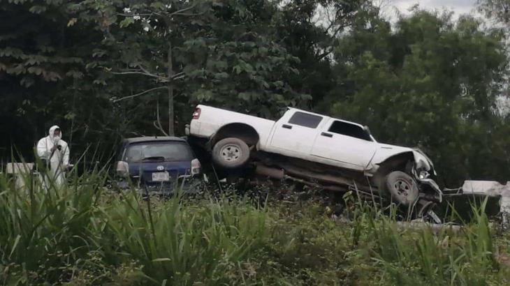 Muere mujer en accidente vehicular sobre carretera La Isla – Cunduacán