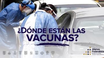 Pueblo mexicano recibirá la vacuna anticovid a cuentagotas, advierte Alianza Federalista
