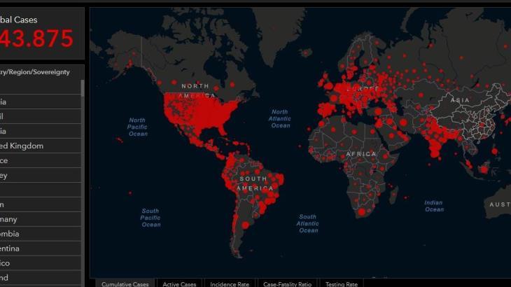 El mundo llega a los 90 millones de casos confirmados de Covid-19