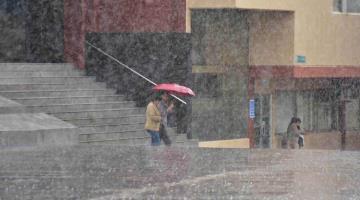 Pronostica Conagua lluvias de hasta 75 milímetros para hoy en Tabasco
