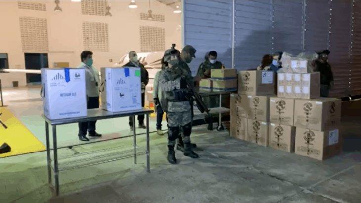 Llegan anoche a Tabasco las primeras vacuna contra el Covid