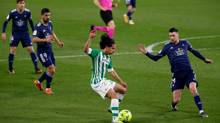 Con Lainez, Betis vuelve a ganar en La Liga