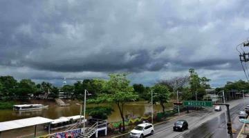 Pronostica CONAGUA lluvias fuertes para hoy en Tabasco, por Frente Frío 36